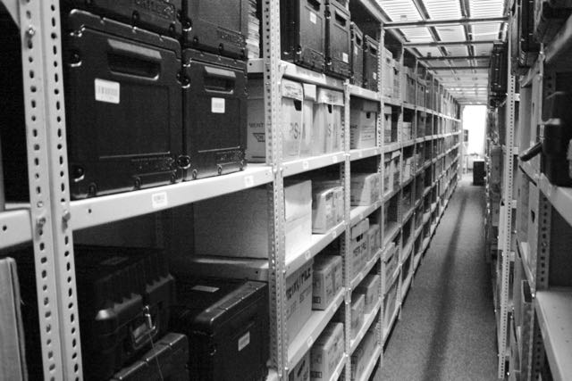 Scanning service - medical records in storage prior to scanning